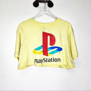 Nintendo Short Sleeve Crop Top